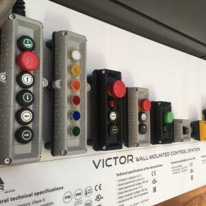 KW VICTOR TER panel ścienny kaseta sterownicza na ścianę