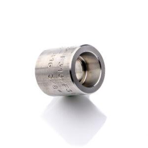 """Mufa 3/8"""" 3000 SW 316L 17,2mm nierdzewna kielichowa"""