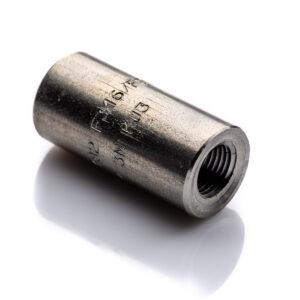Mufa 38'' NPT kl.3000 304L 1.4307 stal nierdzewna gwinty wewnętrzne do wysokiego ciśnienia