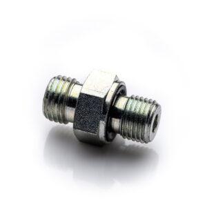 Nypel redukcyjny 14'' - M10x1,0 5L złączka stalowa ciśnieniowa przyłączka 1-4 10x1