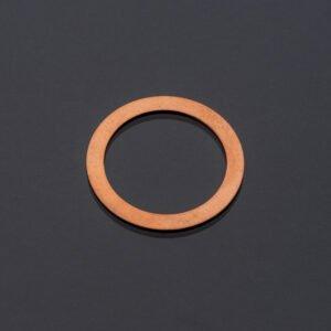 Podkładka miedziana 18x24x1 mm uszczelka miedź DIN7603
