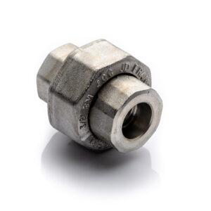 Śrubunek 12'' SW 304L kl.3000 kielichowy do spawania MSS SP-83 holender kwasoodporny wysokociśnieniowy UNION dwuzłączka F