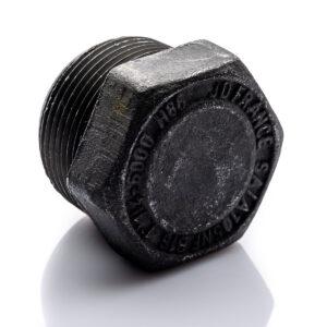 Korek 1 12'' BSP A105 sześciokątny do wysokiego ciśnienia CL3000 stalowy zaślepka stalowa do spawania 1.12 32''