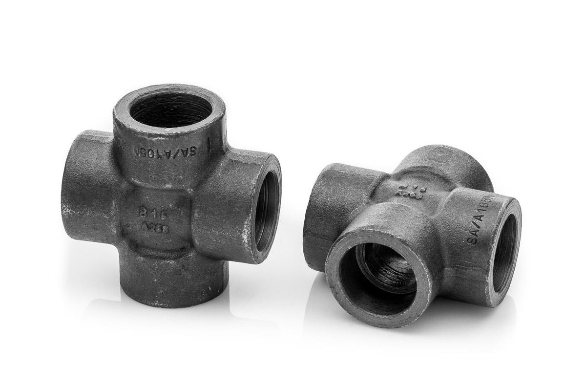 Czwórnik 34'' socket weld A105 kl.3000 P245GH Z6K_6346