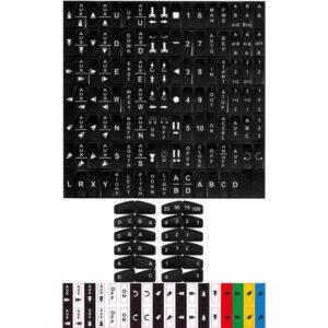 Etykiety do FLEX EX2 naklejki na kasetę pilota